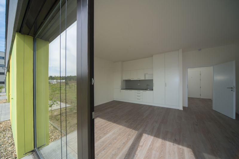 byt B 42 m2 pohled ze zahrady